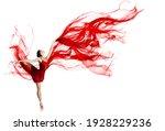 Ballerina Dance. Woman Dancing...
