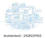 website analytics  online... | Shutterstock .eps vector #1928229503
