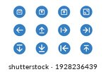 ui icon pack with blue circle...