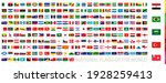 all flags of the world in... | Shutterstock .eps vector #1928259413