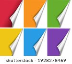 bright corners big set isolated ... | Shutterstock .eps vector #1928278469