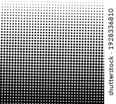 black halftone background with... | Shutterstock .eps vector #1928336810