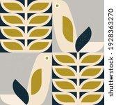 abstract geometric retro... | Shutterstock .eps vector #1928363270
