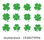four pointed and three pointed... | Shutterstock .eps vector #1928375996