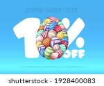 happy easter sale banner.... | Shutterstock .eps vector #1928400083