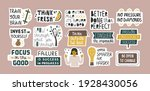 collection of inspirational... | Shutterstock .eps vector #1928430056