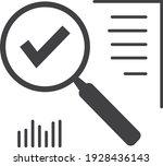 magnifying glass like audit...   Shutterstock .eps vector #1928436143