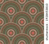 mexican medallions mosaic...   Shutterstock .eps vector #1928453810