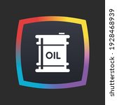 oil   app icon button | Shutterstock .eps vector #1928468939