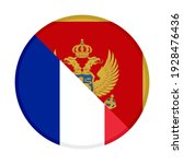 round icon with france and... | Shutterstock .eps vector #1928476436