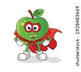 green apple heroes vector....   Shutterstock .eps vector #1928483669