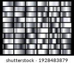 set of silver foil texture... | Shutterstock .eps vector #1928483879