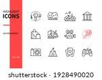 entertainment   modern line...   Shutterstock .eps vector #1928490020