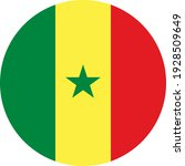 senegal round flag icon.... | Shutterstock .eps vector #1928509649