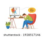psychology therapy online... | Shutterstock .eps vector #1928517146