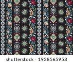 seamless paisley border pattern ...   Shutterstock .eps vector #1928565953