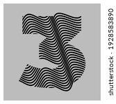 abstract letter 3 logo design....   Shutterstock .eps vector #1928583890
