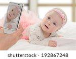 taking portrait of six month... | Shutterstock . vector #192867248