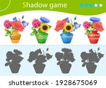 shadow game for kids. match the ... | Shutterstock .eps vector #1928675069