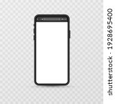 device screen layout. phone...   Shutterstock .eps vector #1928695400