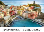 Vernazza Village On A Rock In...