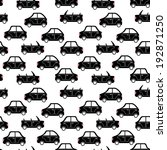 seamless pattern of cartoon... | Shutterstock . vector #192871250