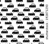 seamless pattern of cartoon... | Shutterstock . vector #192871250