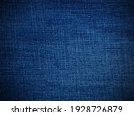 Blue Denim Background Used As A ...