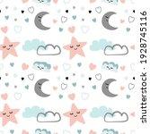 Children's Pattern.  Baby Stars ...