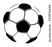 vector sign. football. | Shutterstock .eps vector #192876440