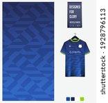 soccer jersey pattern design.... | Shutterstock .eps vector #1928796113