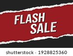 flash sale word concept vector...