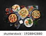 Delicious Fresh Pizzas Variety...