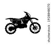motorbike with grunge vector...   Shutterstock .eps vector #1928848070