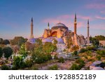 Beautiful View On Hagia Sophia...