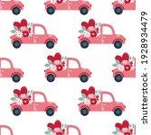 seamless pattern valentine's...   Shutterstock .eps vector #1928934479