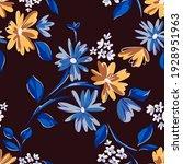 floral seamleass pattern made... | Shutterstock .eps vector #1928951963