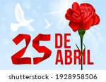 portugal freedom day vector... | Shutterstock .eps vector #1928958506