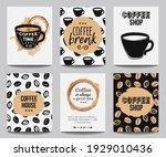 vector set of modern posters...   Shutterstock .eps vector #1929010436