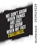 we do not grow when things are... | Shutterstock .eps vector #1929019229