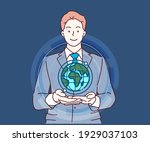 business  globalization and... | Shutterstock .eps vector #1929037103
