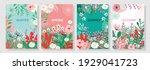 illustration set season element ... | Shutterstock .eps vector #1929041723