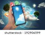 smartphone | Shutterstock . vector #192906599