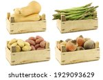 Assorted Cooking Vegetables In...
