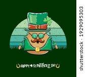 happy saint patricks day... | Shutterstock .eps vector #1929095303