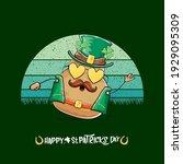 happy saint patricks day... | Shutterstock .eps vector #1929095309