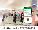 The digital green pass of the...