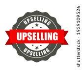 upselling badge   round stamp...   Shutterstock .eps vector #1929109526