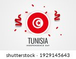 tunisia independence day...   Shutterstock .eps vector #1929145643