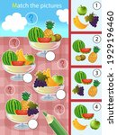 matching game  education game... | Shutterstock .eps vector #1929196460